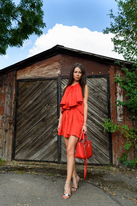 MP Design Red Dreamy гащеризон Официални рокли София