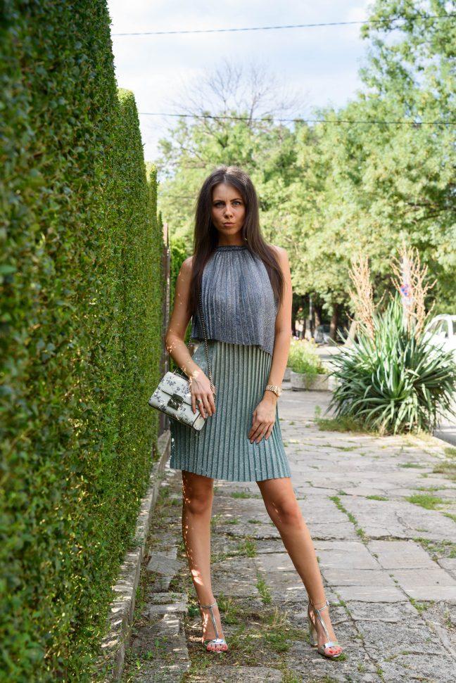 MP Design Рокля в преливащи цветове Официални рокли София