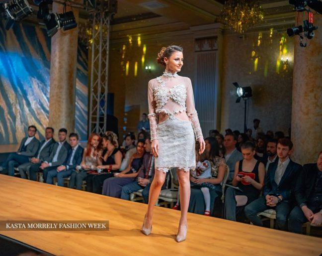 MP Design Рокля с 3D цветя Официални рокли София