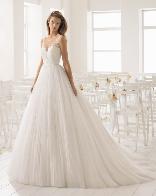 Aire Barcelona Сватбени Булчински рокли Открийте ги в магазина ни в София
