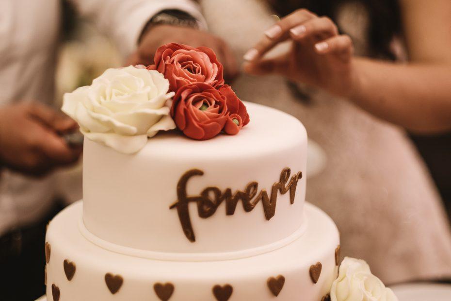 сватбена торта 100 грама сладки