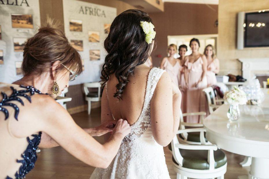 сватбена прическа